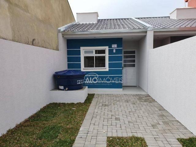 Casa com 2 dormitórios à venda, 36 m² por r$ 155.000,00 - ganchinho - curitiba/pr - Foto 9