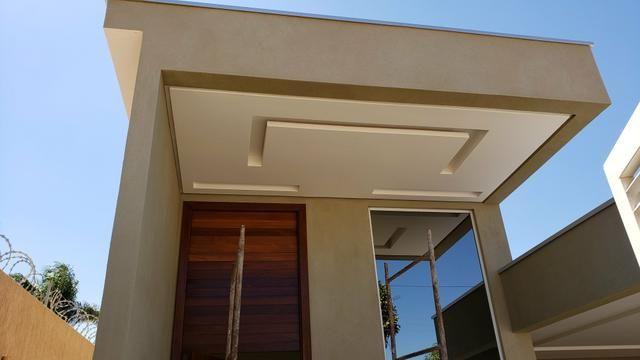 Casa nova 3quartos 3suites piscina churrasqueira rua5 Vicente Pires - Foto 3
