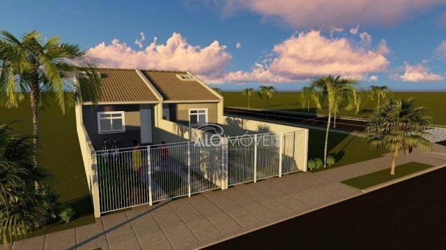 Casa com 2 dormitórios à venda, 36 m² por r$ 155.000,00 - ganchinho - curitiba/pr - Foto 16