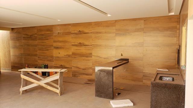 Casa nova 3quartos 3suites piscina churrasqueira rua5 Vicente Pires - Foto 7
