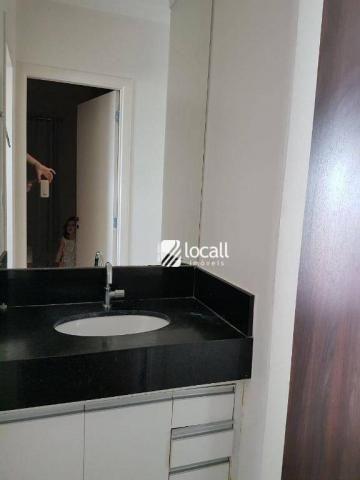 Apartamento para alugar, 40 m² por R$ 1.500,00/mês - Vila Redentora - São José do Rio Pret - Foto 3
