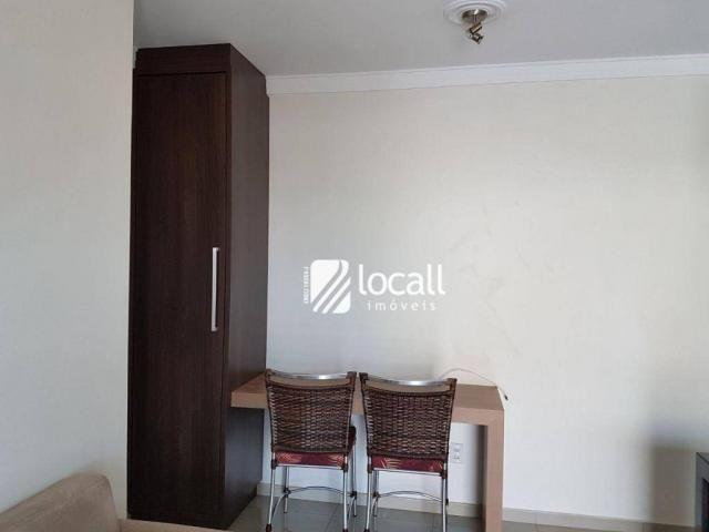 Apartamento para alugar, 40 m² por R$ 1.500,00/mês - Vila Redentora - São José do Rio Pret - Foto 8