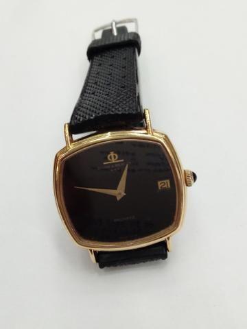 215b31deac7 Relógio Baume Mercier ouro automático quadrado - Bijouterias ...