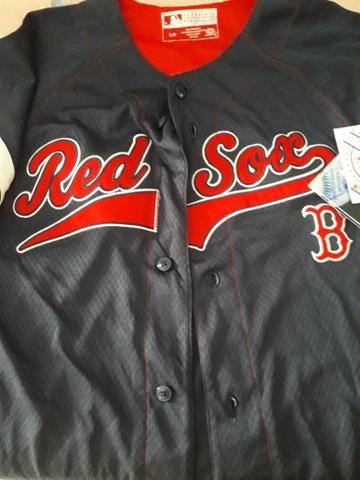 9c695828a2bfe Camisa baseball Red Sox nova - Artigos infantis - Centro