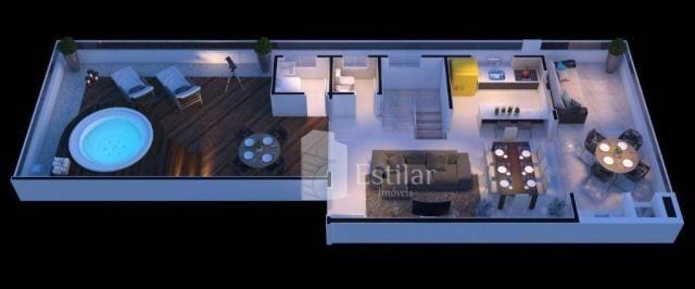 Cobertura com 4 quartos (1 suíte) no centro - matinhos/pr - Foto 11