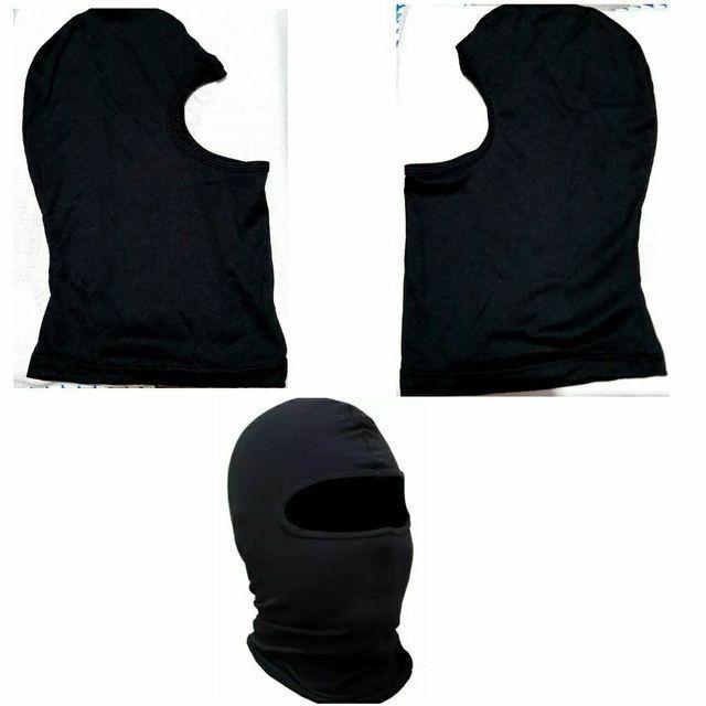 Máscara Proteção Bike Motociclista Esporte Tecido Fino