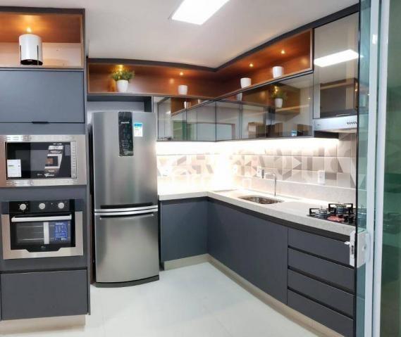 Sobrado com 3 dormitórios à venda, 134 m² por R$ 489.000,00 - Jardim Imperial - Aparecida  - Foto 7