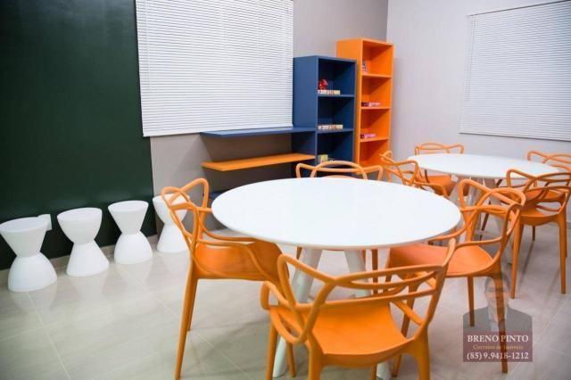 Apartamento com 3 dormitórios à venda, 110 m² por R$ 719.900,00 - Aldeota - Fortaleza/CE - Foto 11