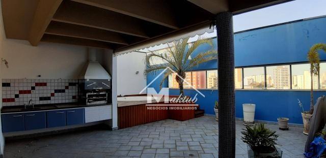 Cobertura com 4 suíte, para alugar, 395 m² por R$ 7.000/mês - Vila Valparaíso - Santo Andr - Foto 6