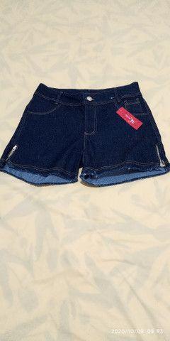 Short jeans plus size feminino - Foto 4