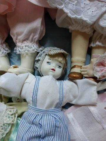 Vendo lindas bonecas porcelana - Foto 6