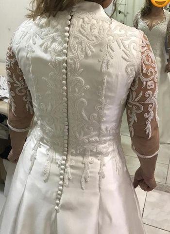 Vestido de Noiva - segundo casamento - Foto 5