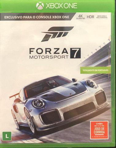 Vendo forza motorsport 7 para Xbox one