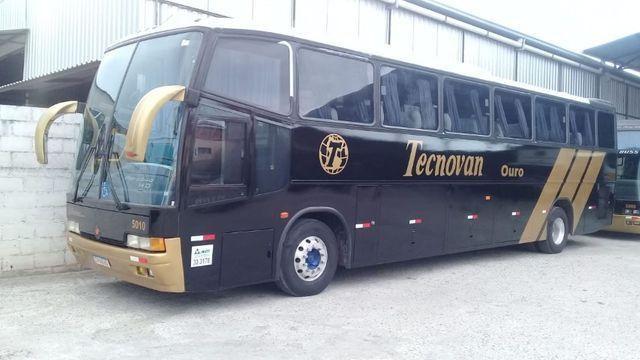 Ônibus rodoviário mercedes benz o 400 eletrônico toco