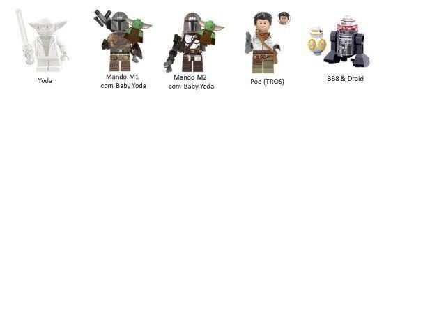 Minifigures (compatível com Lego) DC Marvel e Star Wars - Foto 5