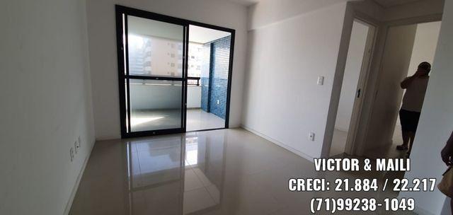2/4 Suíte e varanda - Apartamento em Armação / Costa Azul / Stiep / Orla - Villa Di Mare - Foto 9