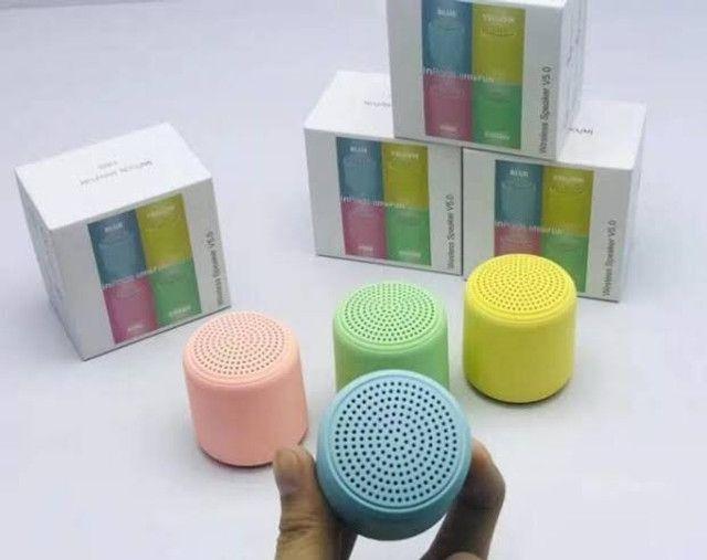 caixinha  De Som Bluetooth Mini Speaker Portatil - Foto 3