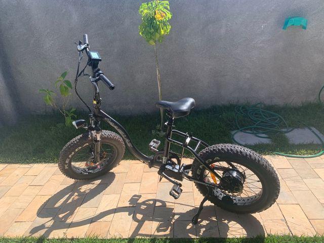 Bike elétrica dobrável - Foto 3