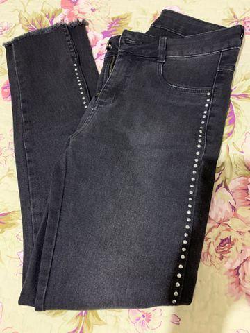 Calça jeans feminina número 38 - Foto 2