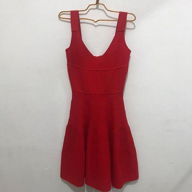Vestido vermelho (NUNCA USADO) - Foto 3