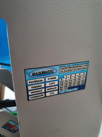 Prensa térmica estamparia 40x50 - Foto 3