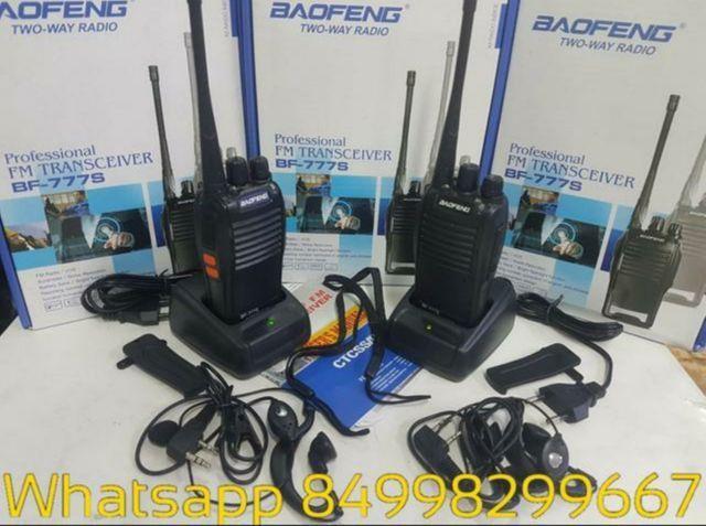 Rádio Comunicador Walk Talk Baofeng 777s 4km em ária aberta - Foto 2