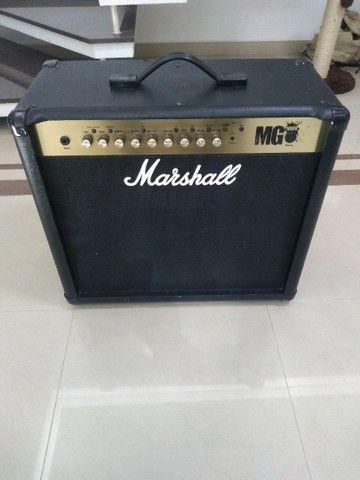 Cubo Guitarra Marshall MG 100 FX - 100 watts - Foto 6