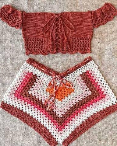 Peças feitas em croche - Foto 4