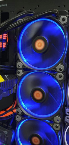 Controladora Fan Thermaltake com 3 Fan 120 mm Rgb - Foto 4