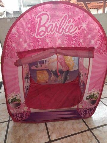 Barraca infantil barbie(faço o preço até 100) - Foto 3