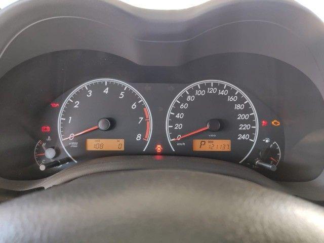 Corola  1.6 Automático  2009  ótima conservação  - Foto 2