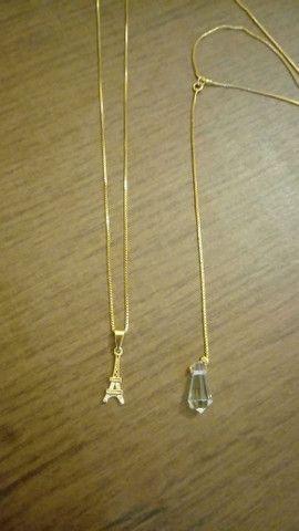 Colares Banhado a ouro Por: R$ 50,00 - Foto 5