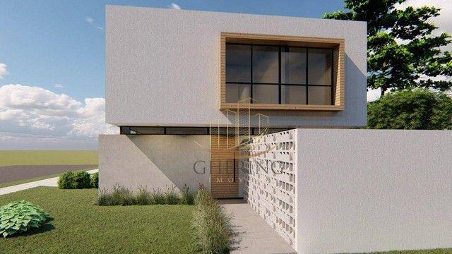 Sobrado Moderno com arquitetura exclusiva com 3 dormitórios sendo 1 suíte, à venda, 150 m² - Foto 3