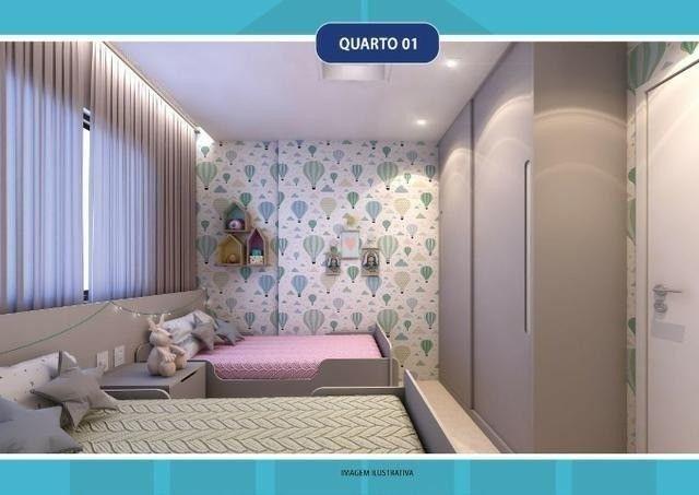 DM - Lançamento na Imbiribeira, 2 ou 3 quartos, condomínio club lazer completo - Foto 4