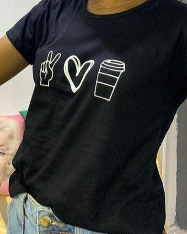 T-shirts - camisetas femininas - Foto 4