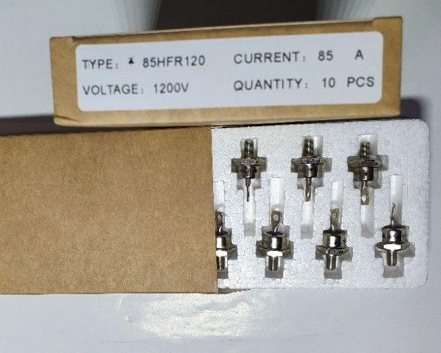 Diodo 85a 1200v Para Carregador De Bateria 85hfr120 Original - Foto 2