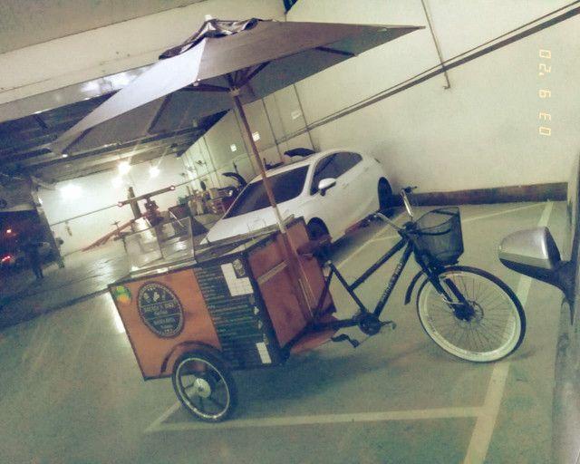 Fast food carrinho de batata frita da pra montar outros tipo de comida tambem aceito troca - Foto 6