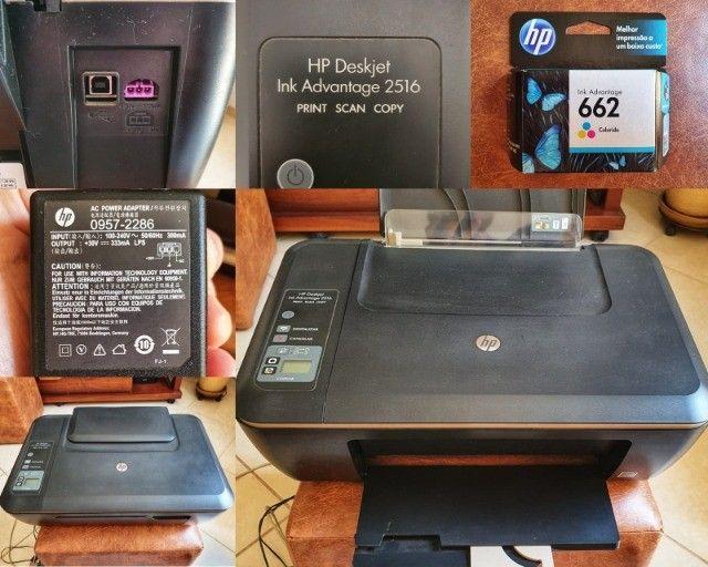 Multifuncional HP Deskjet Ink Advantage 2516