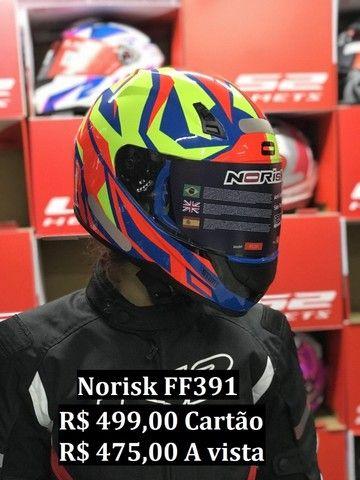 Capacetes NoRisk a partir de R$ 425,00 JL Parts - Foto 13