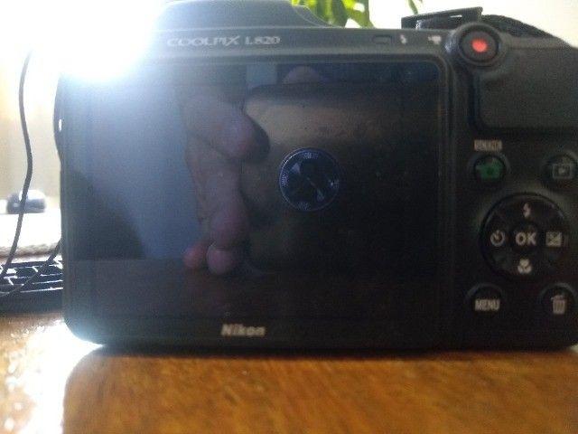 Vendo Câmera Semi Profissional Nikon - Foto 3