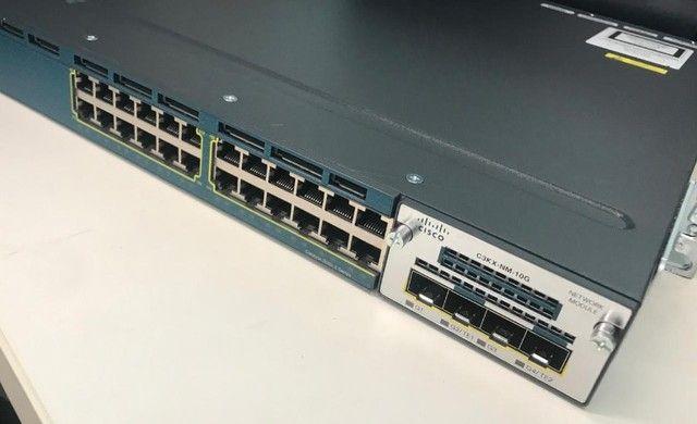 Switch Cisco Model Ws-c3560x-24t (leia A Descrição) - Foto 4