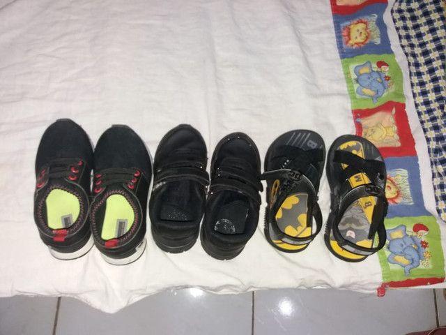 Vendo sapatos TAM 25