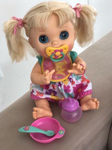 Baby Alive comer e brincar - Foto 3
