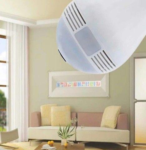 lâmpada espiã 360 Wi-Fi - Foto 4