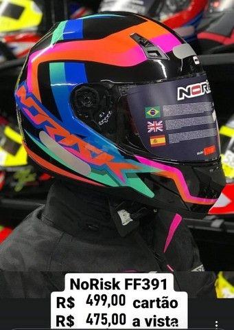 Capacetes NoRisk a partir de R$ 425,00 JL Parts - Foto 7