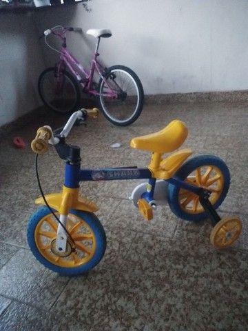 Bicicletinha aro 12 - Foto 2