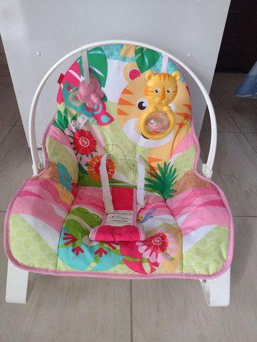 Cadeirinha de descanso infantil - Fisher price - Foto 2