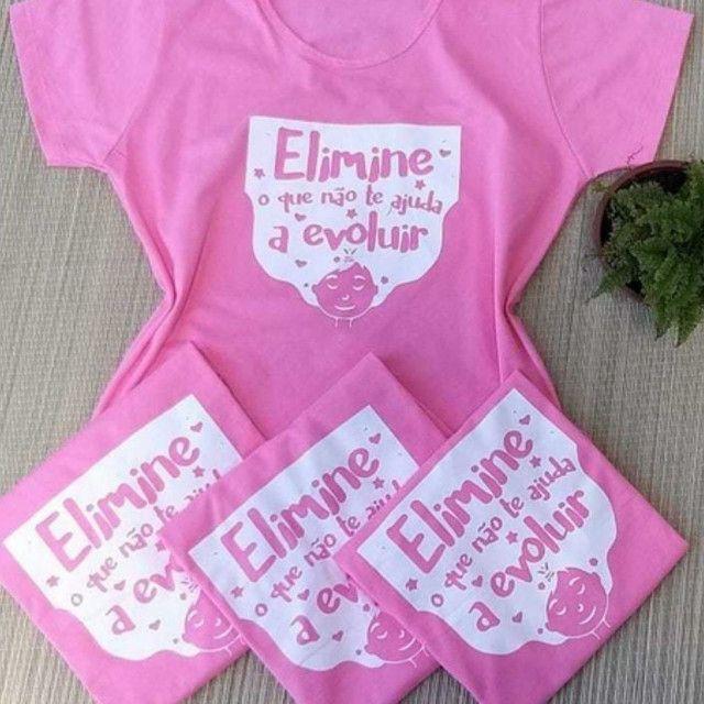T-shirts - camisetas femininas - Foto 3