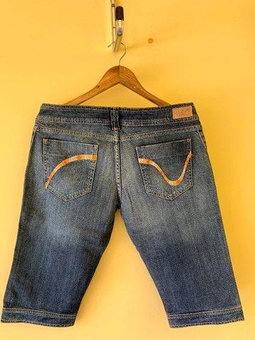 Bermuda Jeans Cantão Nova Com Etiqueta - Foto 3