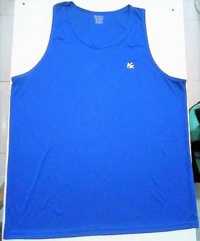 Camiseta /s para esporte Kanka, 100% poliester, extra-grande, EXG / XXL, excelente estado